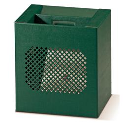 Scatole confezioni Compatta Traforata Seta verde 330x250x350mm 10pz