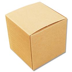 Scatole confezioni Pieghevole Onda sabbia 140x140x140mm 10pz
