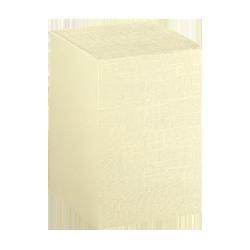 Scatole confezioni PIEGHEVOLE seta avorio 100x100x190 10pcs