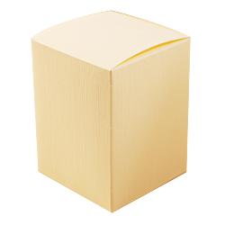 Scatole confezioni PIEGHEVOLE seta avorio 120x120x100 10pz