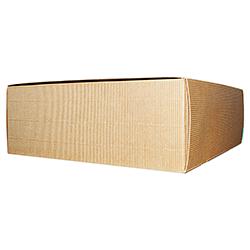 Scatole confezioni PRATICA onda avana 250x250x100 10pz