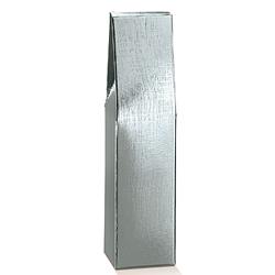 Scatole confezioni Scatola 1 Bott. Seta argento 90x90x370mm 10pz