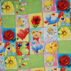 Carta regalo CUPIDO KIDS, 70x100cm, Verde