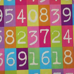 Carta regalo NUMERI, 70x100cm