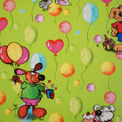 Carta regalo PARTY, 70x100cm, Verde