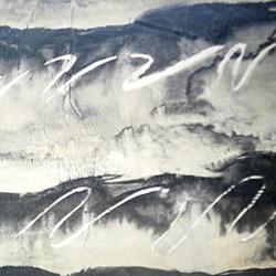 Carta regalo ONDE ASTRATTE, 70x100cm, Argento