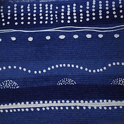 Carta regalo Dotted line, 70x100cm, Blue