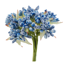 Pick e accessori bomboniere PISTILLI Azzurri (144 pz)