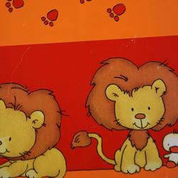 Carta regalo LEONE, 100x140cm, Rosso