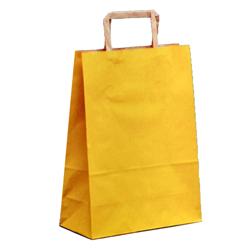 Shopping bag PIATTINA S. Avana Giallo 22x10x29cm (50 pz)