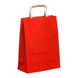 Shopping bag PIATTINA S. Avana Rosso 22x10x29cm (50 pz)