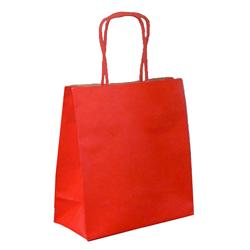Shopping bag TORCIGLIONE Duplex Rosso 26x12x26cm (50 pz)