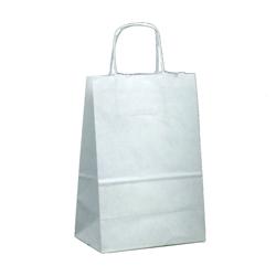 Shopping bag TORCIGLIONE Kraft Bianco 36x12x41cm (50 pz)