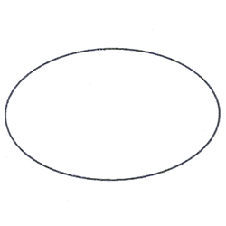 Etichette chiudipacco  Etichette Personalizzate Ovali 30x17 mm cf 5000