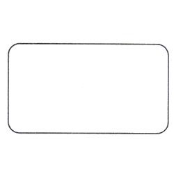 Etichette chiudipacco Etichette Personalizzate Rettangolari 35x20 mm cf