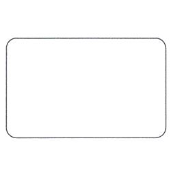 Etichette chiudipacco Etichette Personalizzate Rettangolari 40x25 mm cf