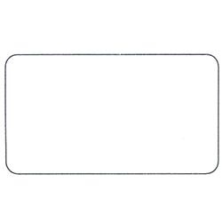 Etichette chiudipacco Etichette Personalizzate Rettangolari 45x25 mm cf