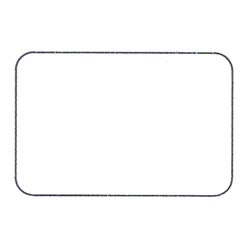 Etichette chiudipacco Etichette Personalizzate Rettangolari 30x20 mm cf