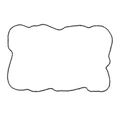 Etichette chiudipacco Etichette Personalizzate Nuvole 34x24 cf 5000
