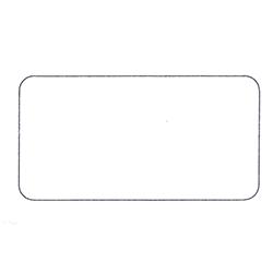 Etichette chiudipacco Etichette Personalizzate Rettangolari 40x21 mm cf