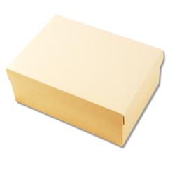 Scatole confezioni F/C DP c/inserto seta sabbia 240x170x100