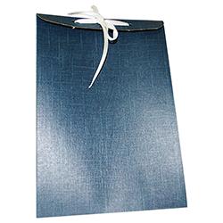 Scatole confezioni SACCH. FO. juta blu 160x65x230