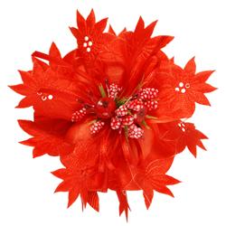 Portaconfetti Flowering Grosgrain+Organdie mm60/50Mt