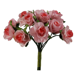 Pick e accessori bomboniere GARDENIA PICCOLA Rosa (144 pz)