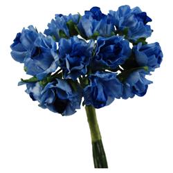 Pick e accessori bomboniere GARDENIA PICCOLA Azzurra (144 pz)