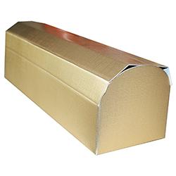 Scatole confezioni COFANETTO ON seta oro 10pz 330x100x100