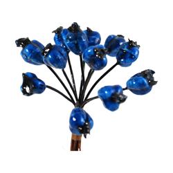 Pick e accessori bomboniere BACCHE DI MELOGRANO Blu (144 pz)