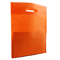 Shopping bag Shopper Tnt 25x33cm Arancio (10pz)