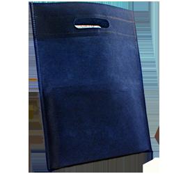Shopping bag Shopper Tnt 25x33cm Blu (10pz)