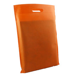 Shopping bag Shopper Tnt 30x45cm Arancio (10pz)