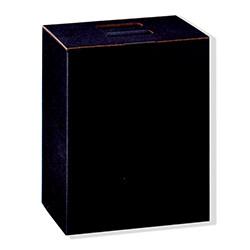 Scatole confezioni Cubotto 6 Bott. Seta nero 270x180x340mm 10pz