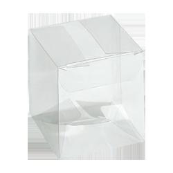 Scatole confezioni SCATTO Trasparente 180x180x250 10pz