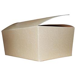 Scatole confezioni BALLOTTIN seta sabbia 140x90x60 10pz