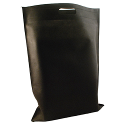 Shopping bag Shopper Tnt 40x55cm Nero (10pz)