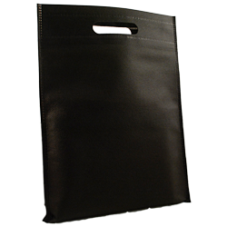 Shopping bag Shopper Tnt 25x33cm Nero (10pz)