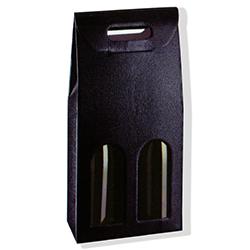 Scatole confezioni SC.2 BOTT. PELLE NERO 180x90x385 10pz