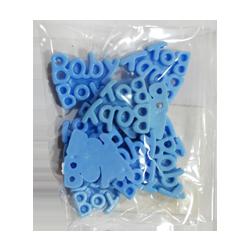 Pick e accessori bomboniere APPL BABY PLAS AZZURRO (12 pz)