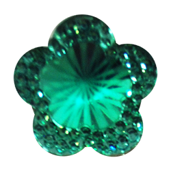 Pick e accessori bomboniere FIORE BRILLANTE PICCOLO (DIAM.19MM) CELESTE