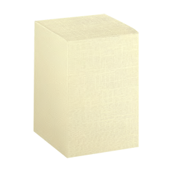 Scatole confezioni PIEGHEVOLE seta avorio 90X90X140 10pz