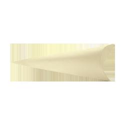 Scatole confezioni CONO BUSTA SETA AVORIO  mm190 PZ 10