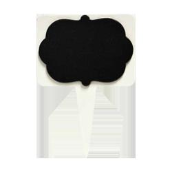 Pick e accessori bomboniere LAVAGNETTA SAGOMATA CM.8X5.5H.11 PZ 1