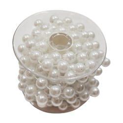Pick e accessori bomboniere GARLAND PERLE BIANCO MM.10/2.7MT